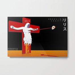 Neon Genesis Evangelion - Angel 02: Lilith Metal Print