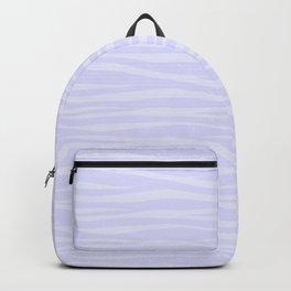 Zebra Print - Lavender Sorbet Backpack