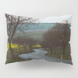 Along a rural road - Landscape and Nature Photography Pillow Sham