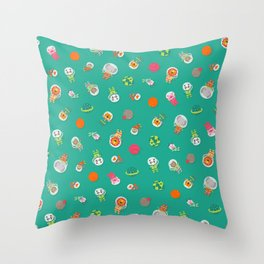Space animals Throw Pillow