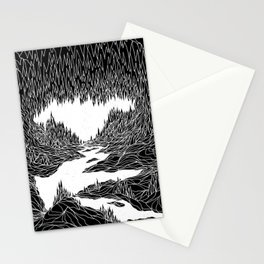 Cave Trip Stationery Cards