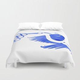 Heron (Keep it clean) Duvet Cover