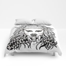 Die Antwood Inspired Illustration Comforters