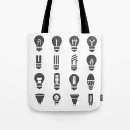Set lamps Tote Bag