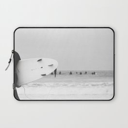 Catch a Wave ll - abstract surf board photography - part of a series by Ingrid Beddoes Laptop Sleeve