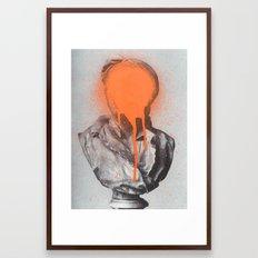 Busted 2 Framed Art Print
