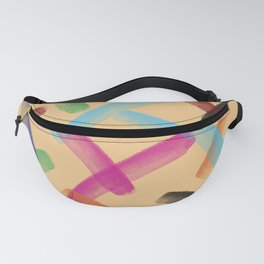 Colourful patterns Fanny Pack