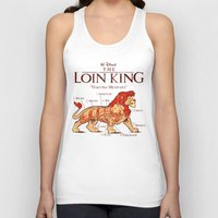 hakuna Tank Tops featuring THE LOIN KING by BeastWreck