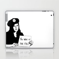It's been a pleasure serving with you, son. Laptop & iPad Skin