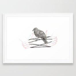 3D Cat's Cradle #1 Framed Art Print