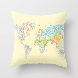 We Are All Writers Throw Pillow