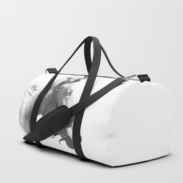 White horse Duffle Bag