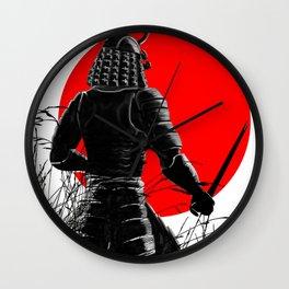 The way of warrior Wall Clock