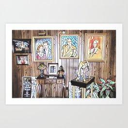 Owen Magic Supreme Entrance Art Print