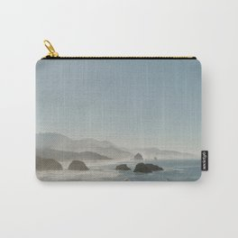 Hazy Morning at Cannon Beach, Oregon Carry-All Pouch
