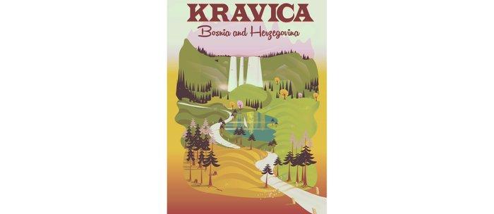 Kravica Waterfalls Coffee Mug