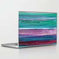 the strokes Laptop & iPad Skins featuring Different Strokes by Steven Womack