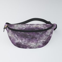 Amethyst Asteroid Fanny Pack
