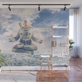 Dreamer In The Field Wall Mural