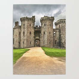 Gateway To The Castle Poster