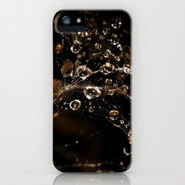 Web drops iPhone Case