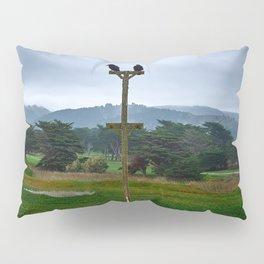 two crows pacifica beach Pillow Sham