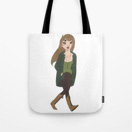 Shaggy Genderbend Tote Bag