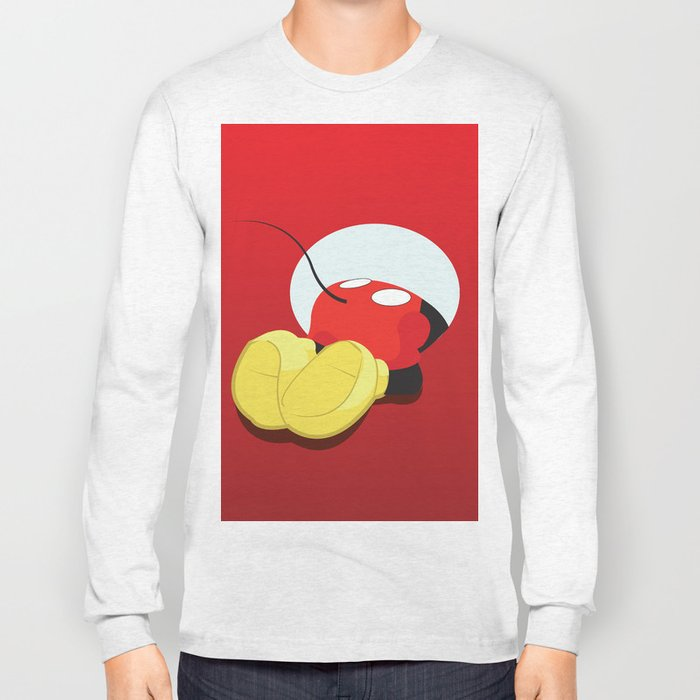 Mickey Mouse No. 7 Long Sleeve T-shirt