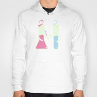 chemistry Hoodies featuring They Have Chemistry  by Jonah Makes Artstuff