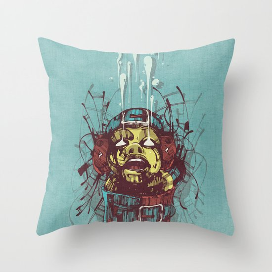 Propaganda II. Throw Pillow