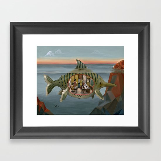 Covert Operation Framed Art Print