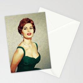 Sophia Loren, Hollywood Legend Stationery Cards