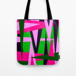 Retro Abstract 41 Poster Tote Bag