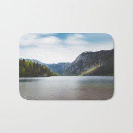 Lake Bohinj, Slovenia Bath Mat
