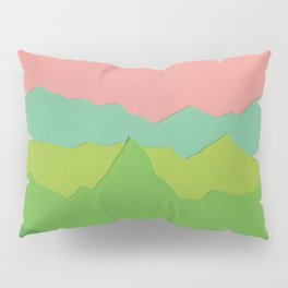 Green Mountains I Pillow Sham