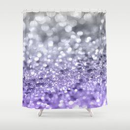 Purple Gray MERMAID Girls Glitter 1 Shiny Decor Art Society6 Shower