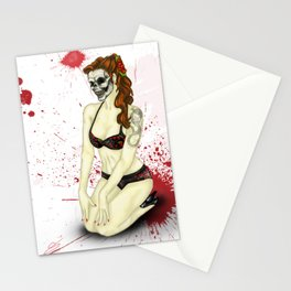 Pin-Up Ghoul Stationery Cards