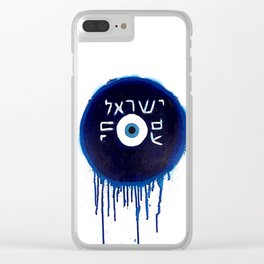 Nazar Ayin (We Lived, B****) Clear iPhone Case