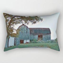 Barn built 1906 Rectangular Pillow