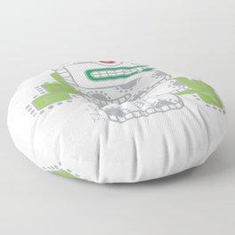 Koru-Fern Serpent Floor Pillow