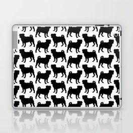 Simple Pug Silhouette Laptop & iPad Skin