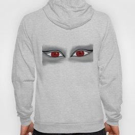Woman's Visage red eyes Hoody