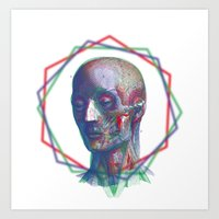 anatomy Art Prints featuring Anatomy by RAdesigns