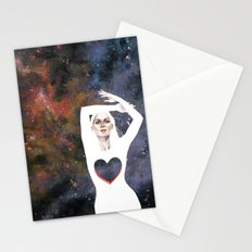 Love is infinite as the Cosmos Stationery Cards