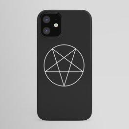 Inverted Pentagram iPhone Case