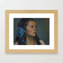 Marga Framed Art Print