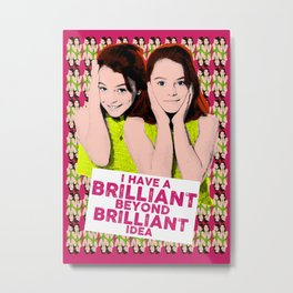 The Parent Trap - I Have a Brilliant idea Metal Print