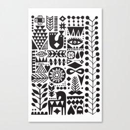 Forest print Canvas Print