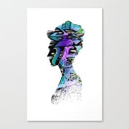 Royal Graffiti Canvas Print