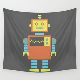 Robot #3 Wall Tapestry